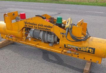 Vacuüm heftoestel tot 2000 kg handlen