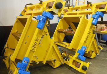 Weegwagens geproduceerd door machinefabriek MHZ