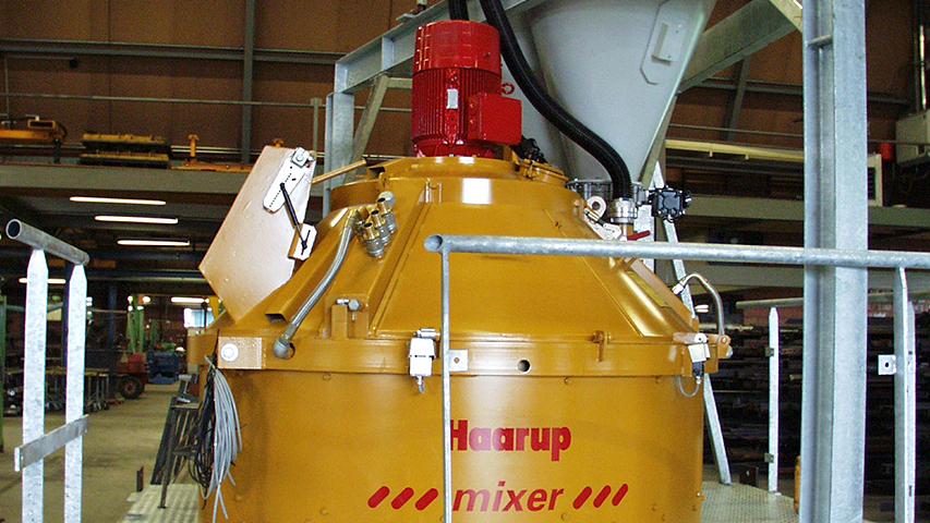 Betonmenger voor de betonindustrie, geproduceerd door machinefabriek MHZ