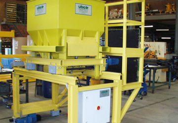 Kubeltransportwagen voor de betonindustrie, geproduceerd door machinefabriek MHZ