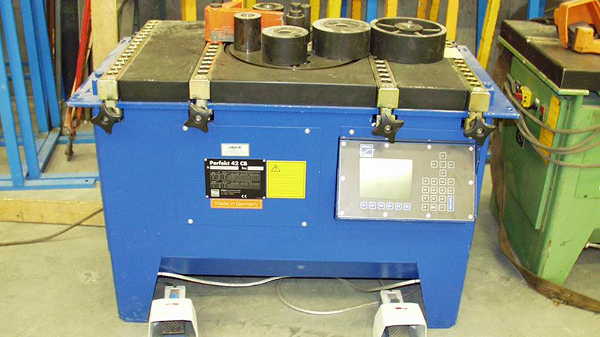 Betonstaalmachine geproduceerd door machinefabriek MHZ