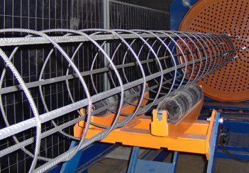 Palenlasmachine om ronde korven te lassen tot 16 meter lang, geproduceerd door MHZ
