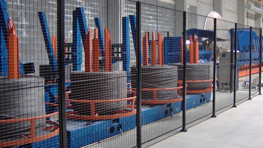 Betonstaalhaspels voor diameters van 6 mm tot en met 16 mm, geproduceerd door MHZ